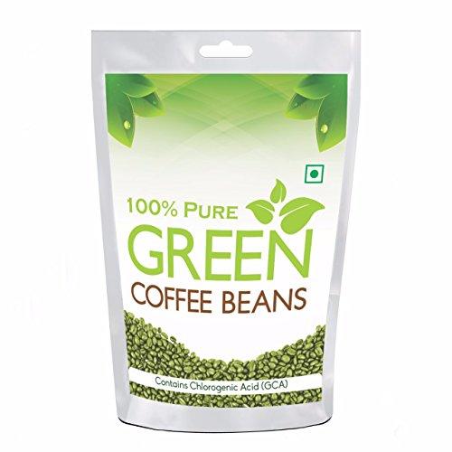 Pure organic Arabica Green Coffee Beans 200gm..
